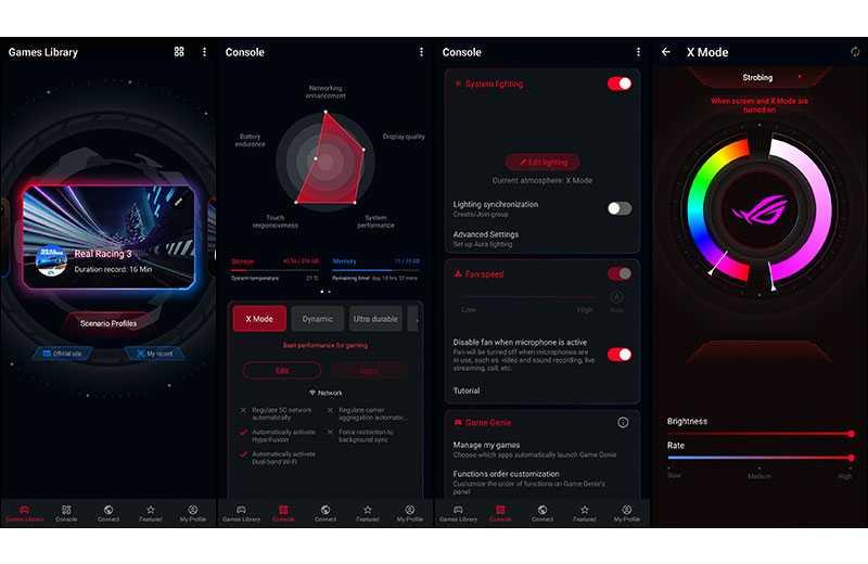 Asus ROG Phone 5 игровые функции