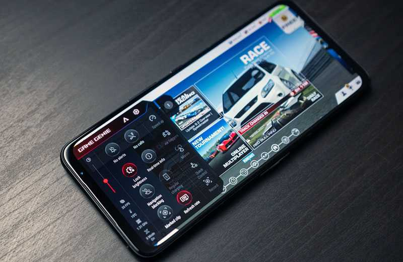 Asus ROG Phone 5 в играх
