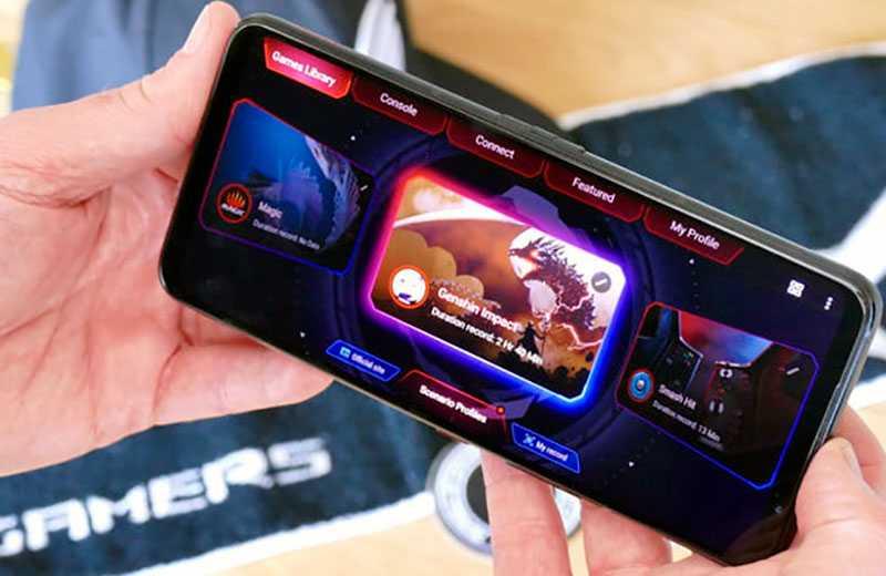Asus ROG Phone 5 игры