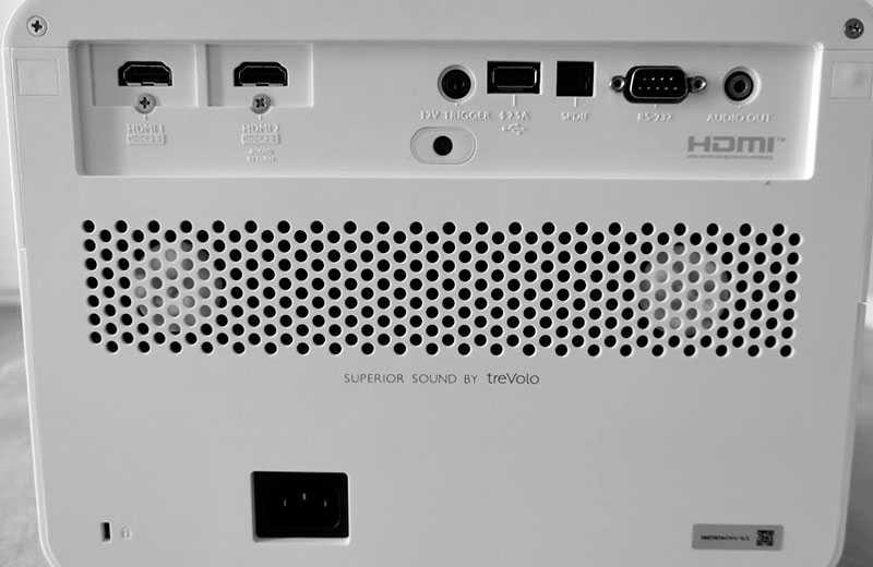 BenQ X1300i разъёмы