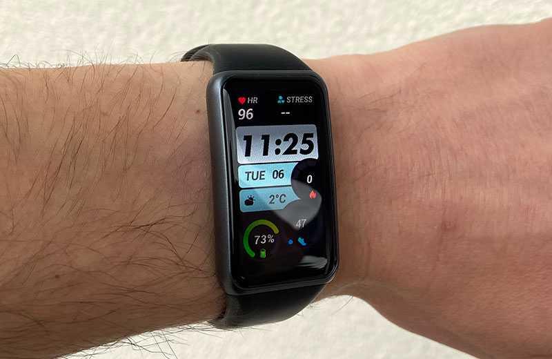 Экран Huawei Band 6