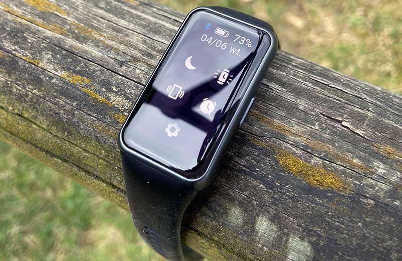 Huawei Band 6 меню экрана