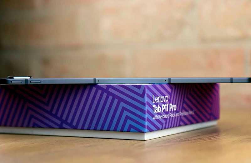 Lenovo Tab P11 Pro конструкция