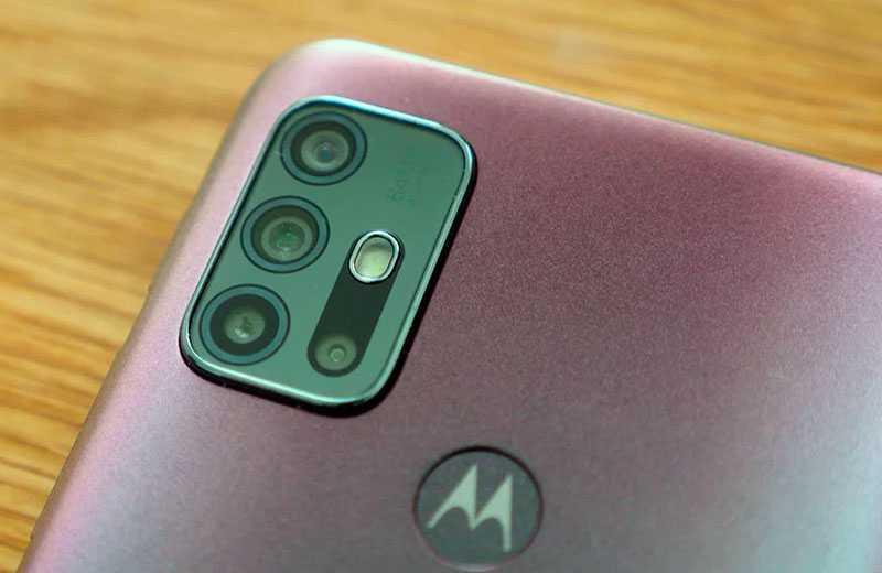 Камеры Moto G30