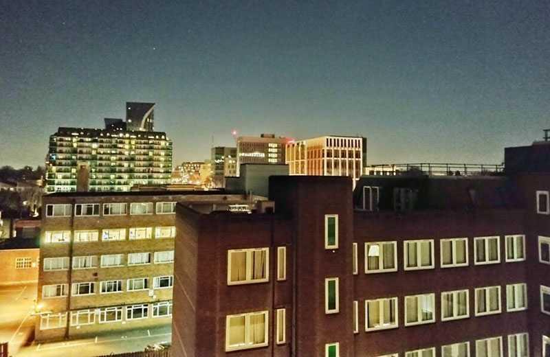 Motorola Moto G30 съёмка ночью