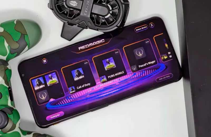 Nubia Red Magic 6 игровой смартфон