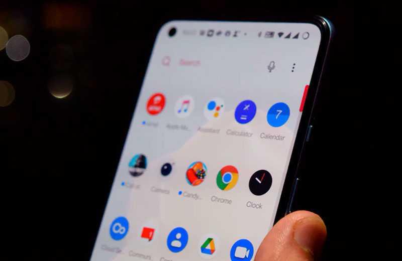 Система OnePlus 9R 5G