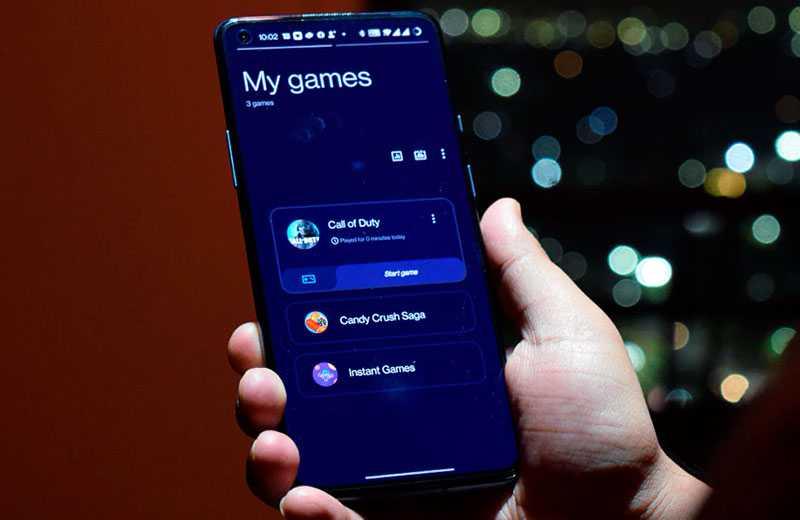 OnePlus 9R 5G ОС
