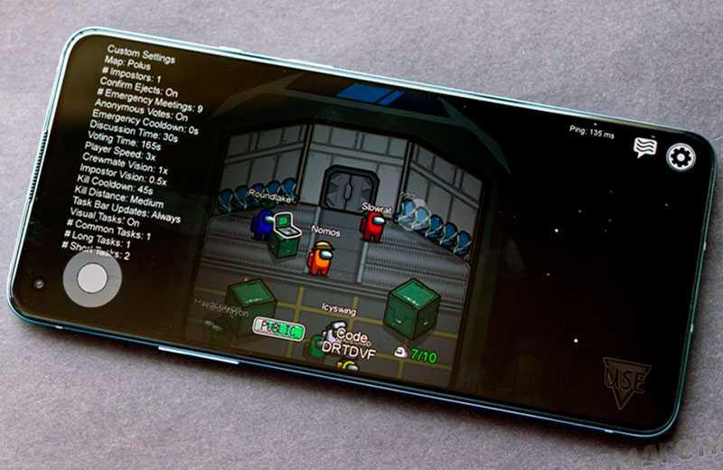 OnePlus 9R 5G в играх