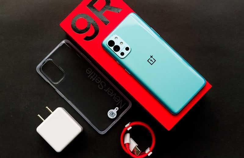 OnePlus 9R 5G из коробки