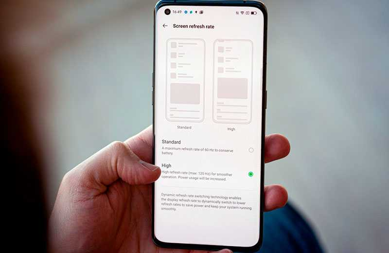 Oppo Find X3 Pro дислей