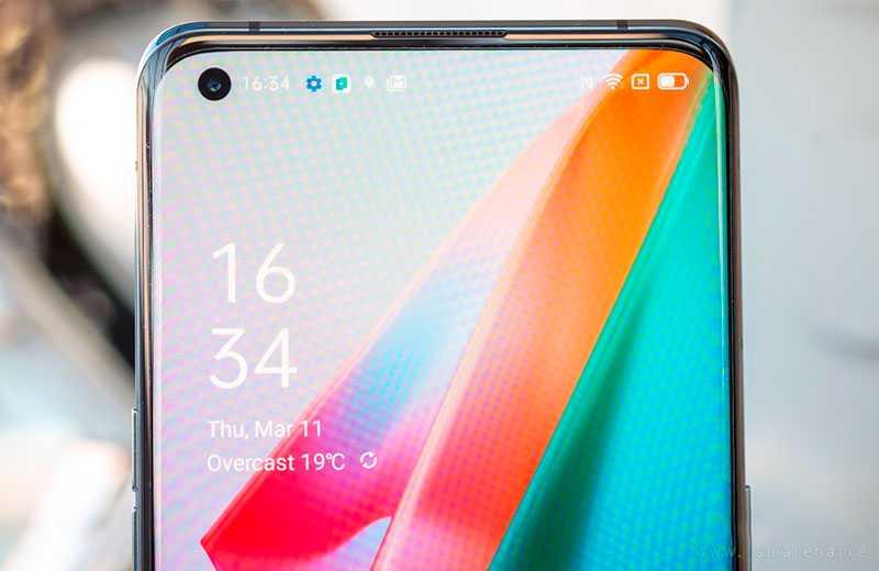 Oppo Find X3 Pro экран