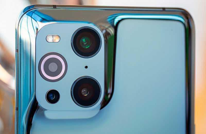 Камера Oppo Find X3 Pro