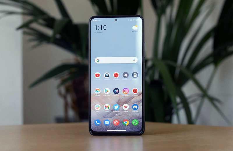 Xiaomi Poco F3 ОС
