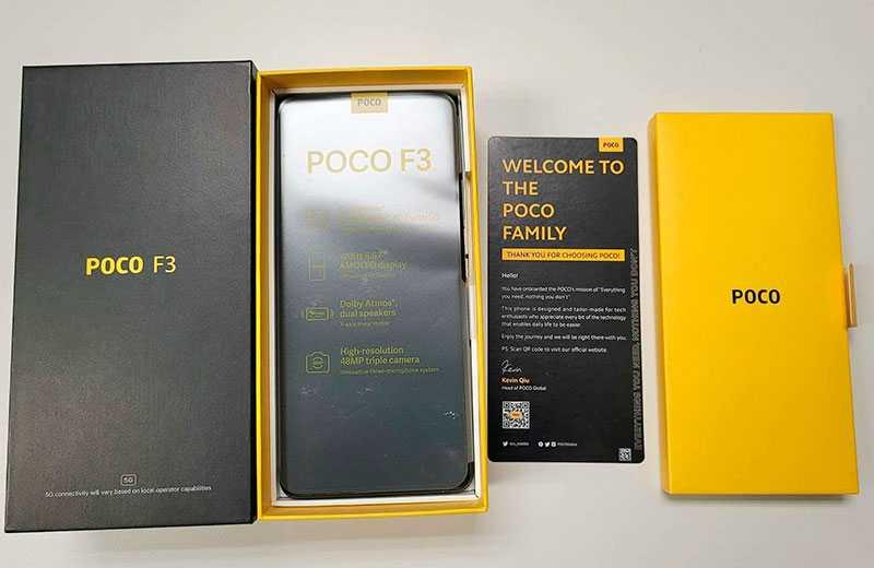 Характеристики Xiaomi Poco F3