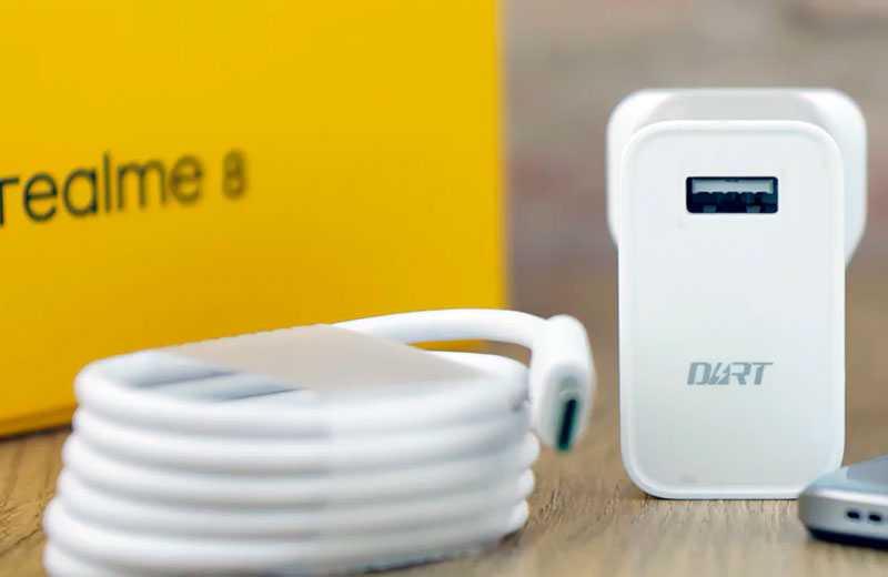 Realme 8 зарядка 30 Вт