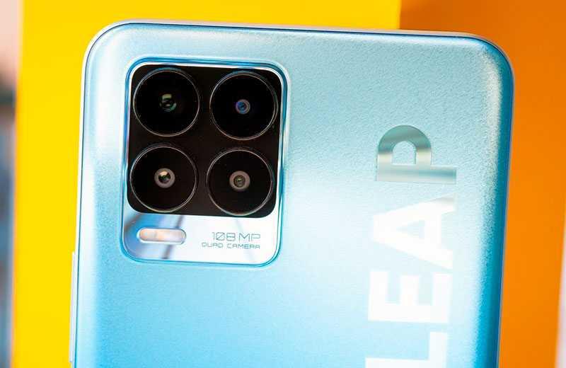 Камера Realme 8 Pro