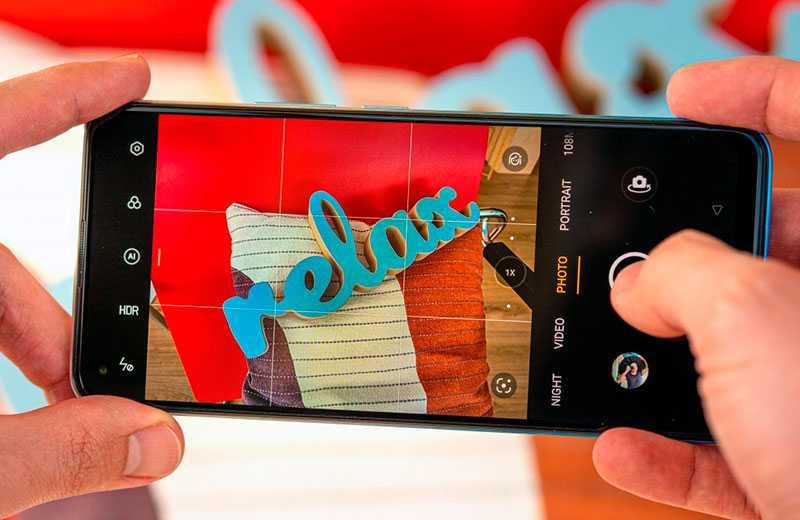 Realme 8 Pro съёмка