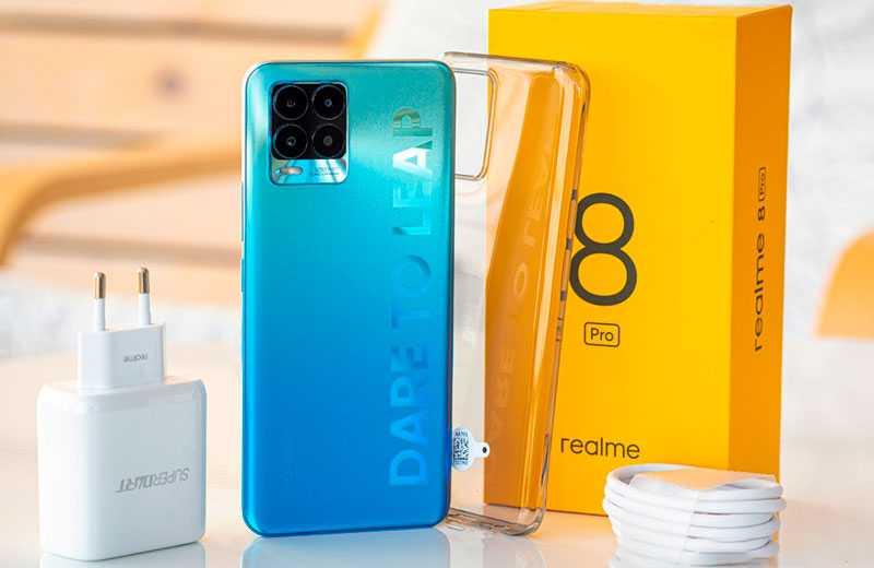 Realme 8 Pro из коробки