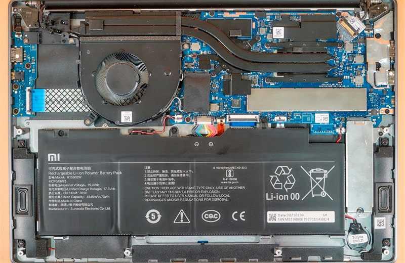 Железо Xiaomi RedmiBook Pro 15