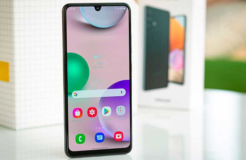 Samsung Galaxy A32 ОС