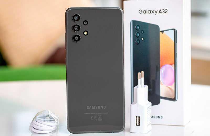 Samsung Galaxy A32 из коробки