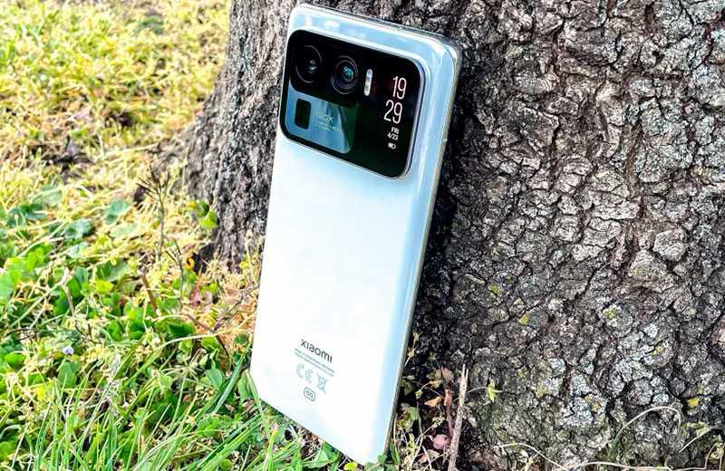 Xiaomi Mi 11 Ultra внешний вид