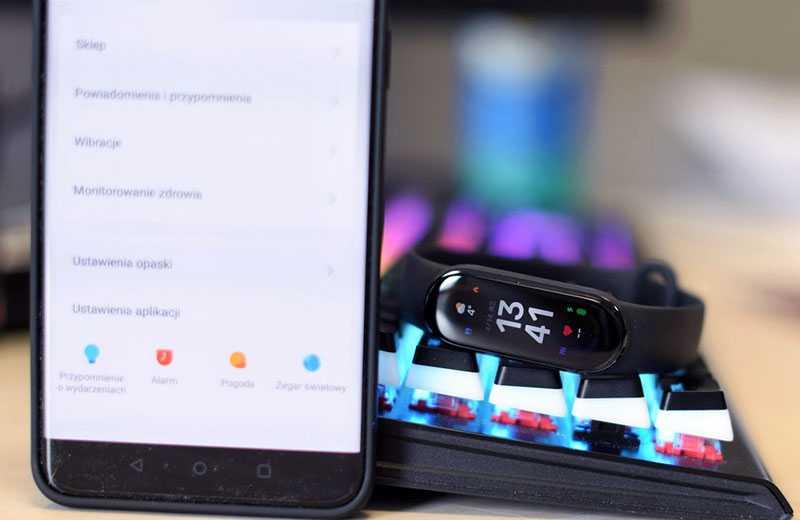 ПО Xiaomi Mi Band 6