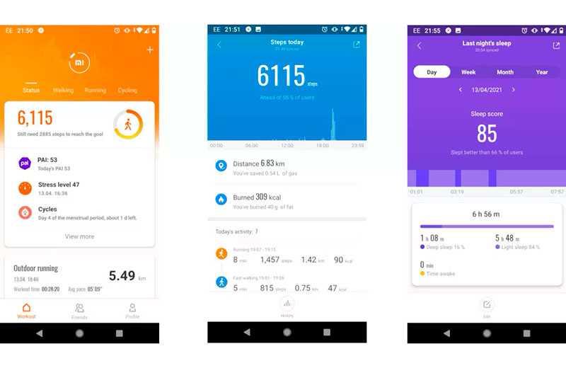 Xiaomi Mi Band 6 отслеживание здоровья