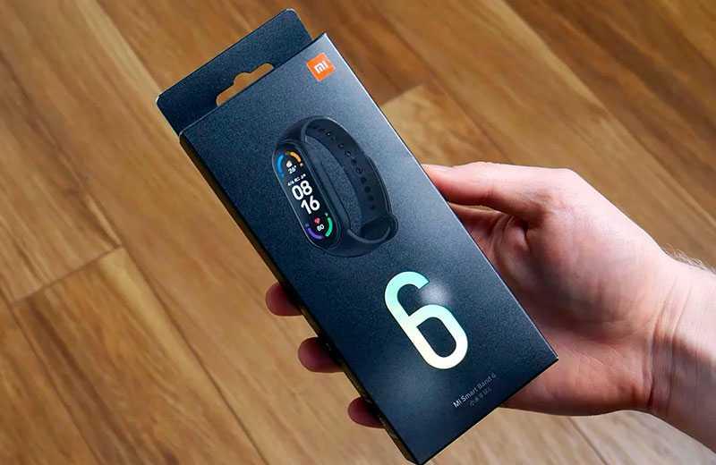 Xiaomi Mi Band 6 распаковка браслета