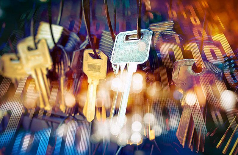 Использование паролей и ключей безопасности