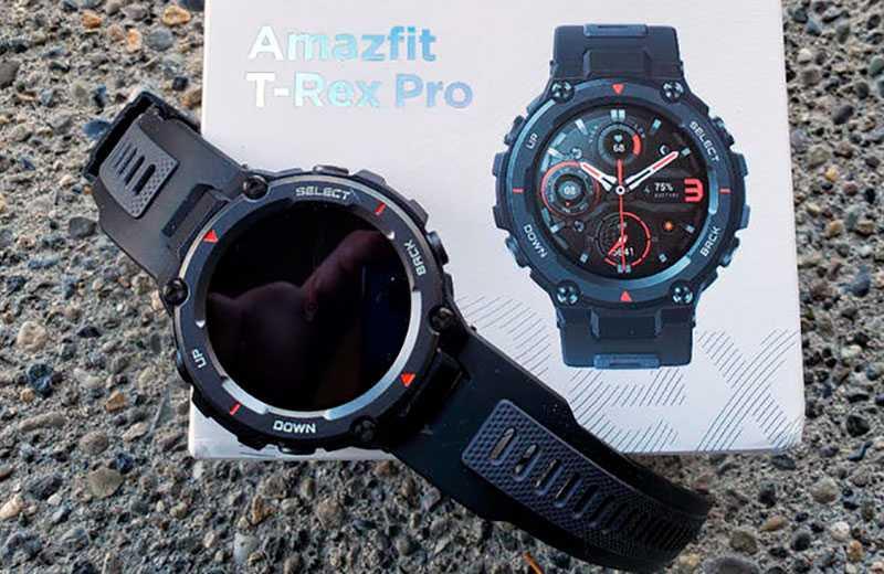 Характеристики Amazfit T-Rex Pro