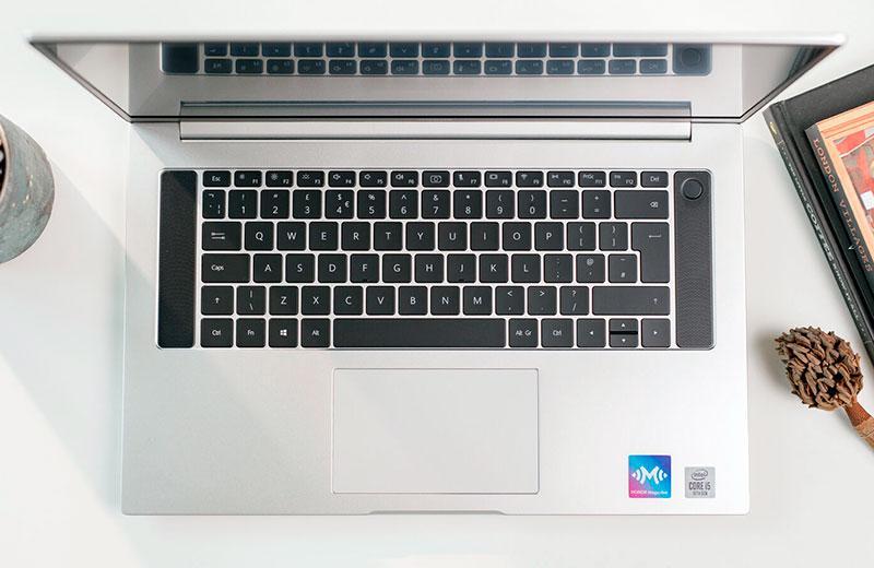 Honor MagicBook Pro клавиатура