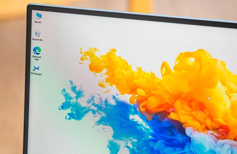 Honor MagicBook Pro рамки дисплея
