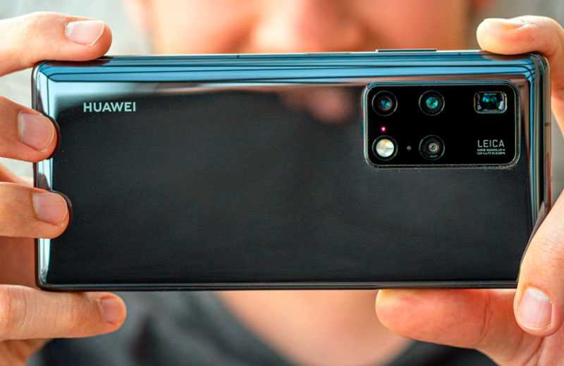 Huawei Mate X2 камера