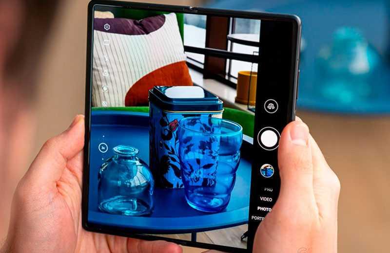 Huawei Mate X2 кчество съёмки