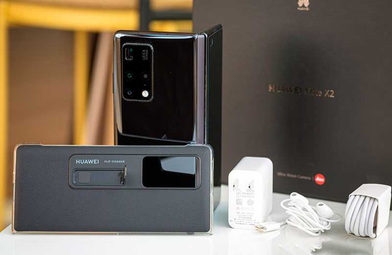 Huawei Mate X2 распаковка