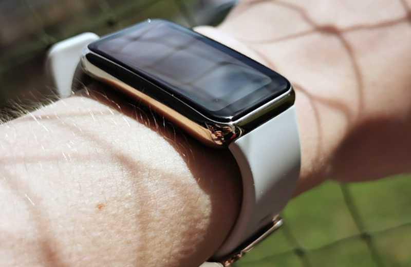 Huawei Watch Fit Elegant на практике