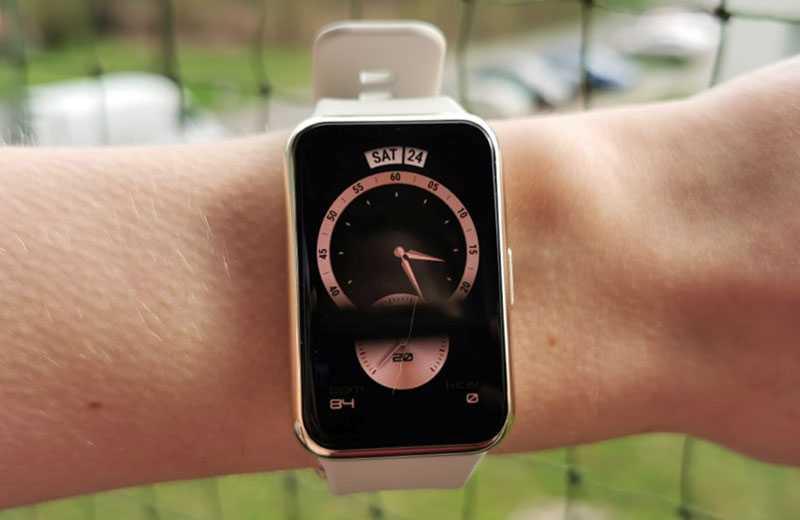 Экран Huawei Watch Fit Elegant