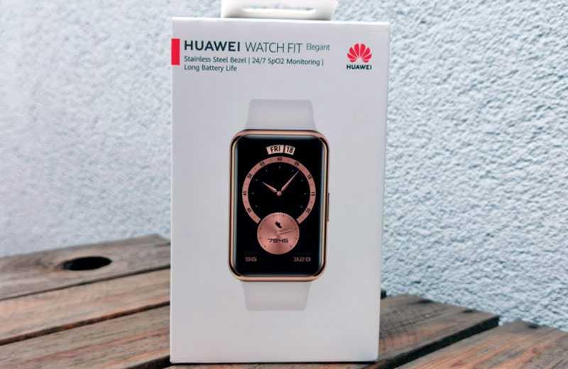 Характеристики Huawei Watch Fit Elegant Edition