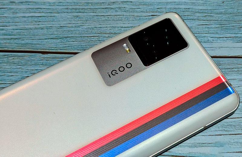 iQOO 7 5G камера смартфона