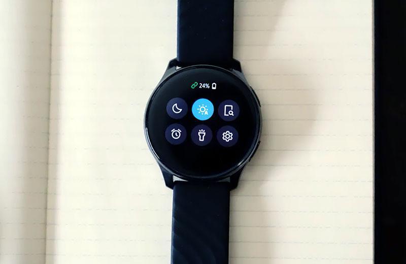 OnePlus Watch интерфейс