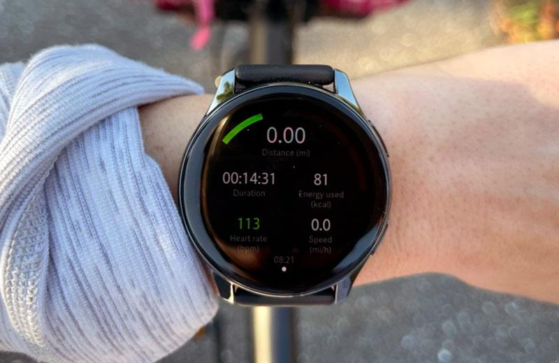 Фитнес фукции OnePlus Watch