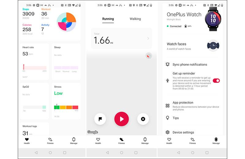 OnePlus Watch приложение