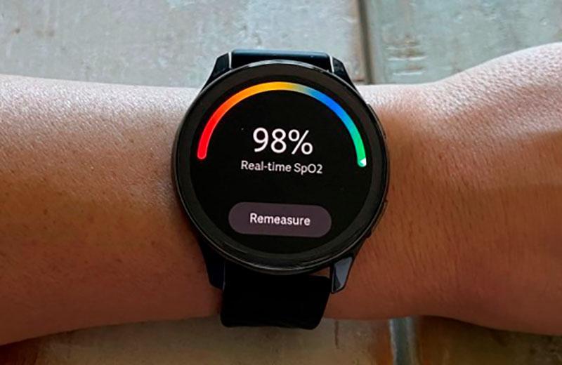 OnePlus Watch кислород в крови