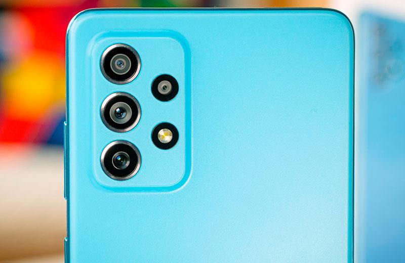 Камеры Samsung Galaxy A72