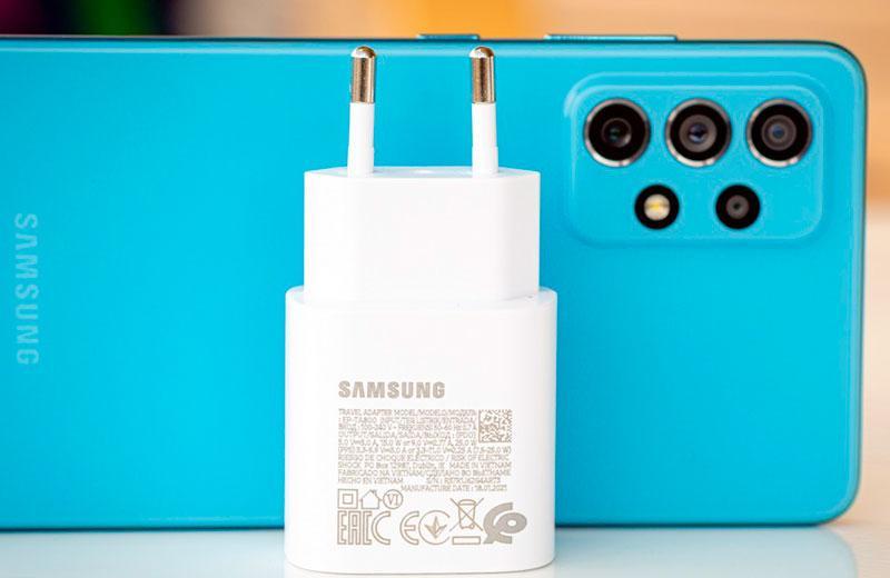 Samsung Galaxy A72 автономность и зарядка