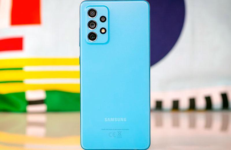 Дизайн Samsung Galaxy A72