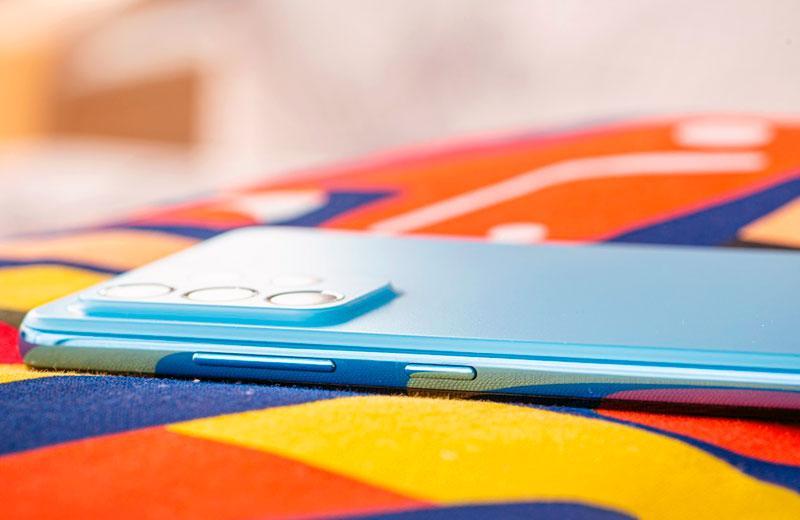 Samsung Galaxy A72 кнопки управления