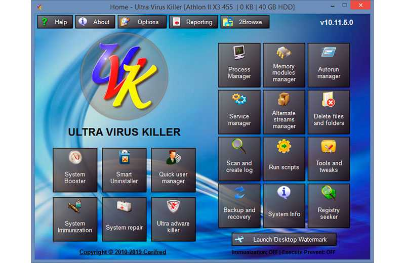 UVK – Ultra Virus Killer